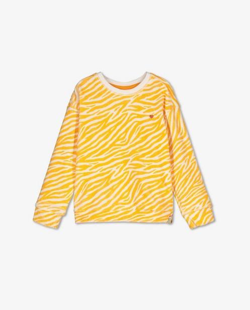 Sponzen trui met tijgerprint Looxs - allover - Looxs