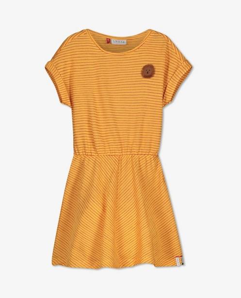 Gele jurk met strepen Looxs - allover - Looxs