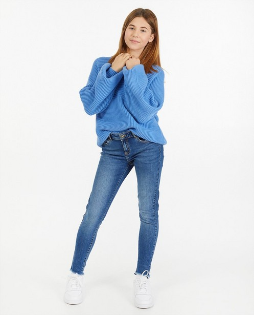 Blauwe trui - met strepenpatroon - Groggy