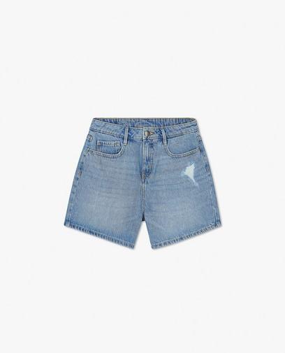 Short en jeans bleu clair