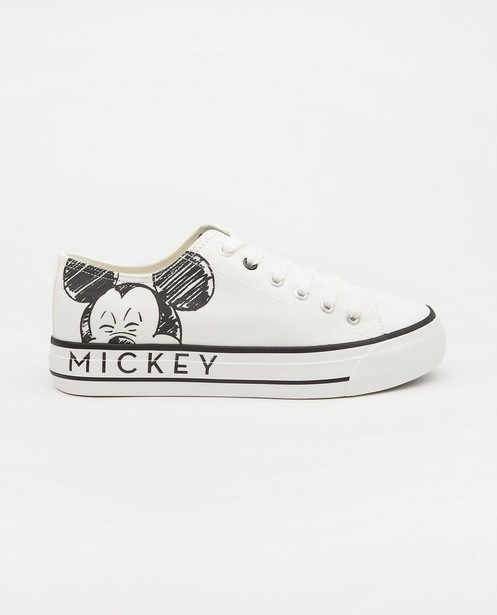 Mickey Mouse-sneakers, maat 36-41 - in wit - Mickey