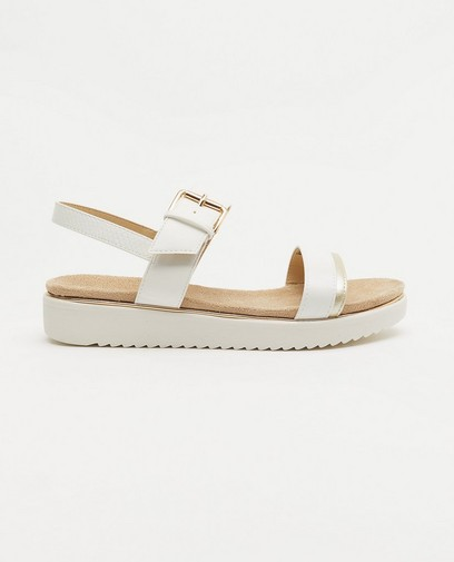Sandales blanches Sprox, pointure 36-41