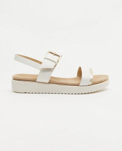 Witte sandalen Sprox, maat 36-41