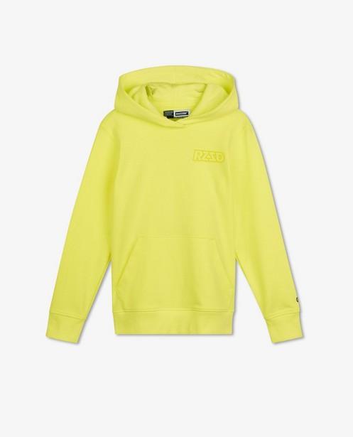 Fluogele hoodie Raizzed - met rubberprint - Raizzed