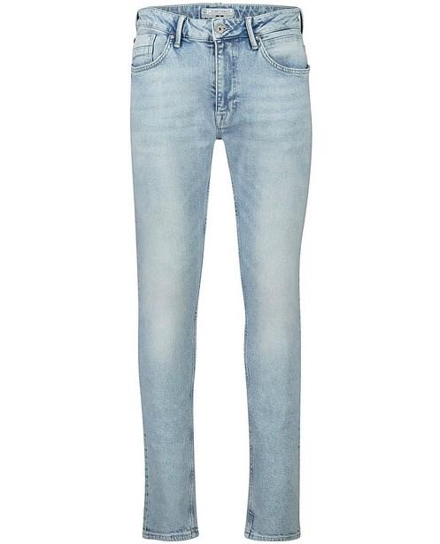 Jeans tapered fit bleu clair Luke - stretch - Quarterback