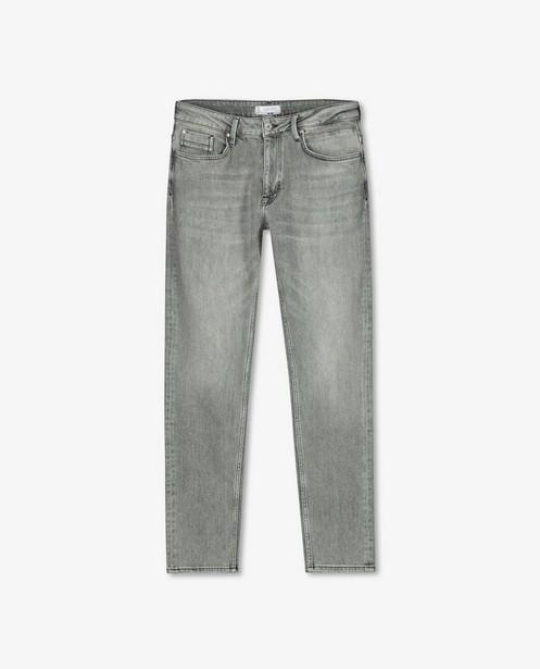 Grijze tapered fit jeans Luke - stretch - Quarterback