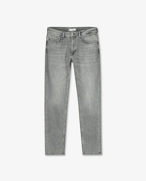 Jeans tapered fit gris Luke - stretch - Quarterback