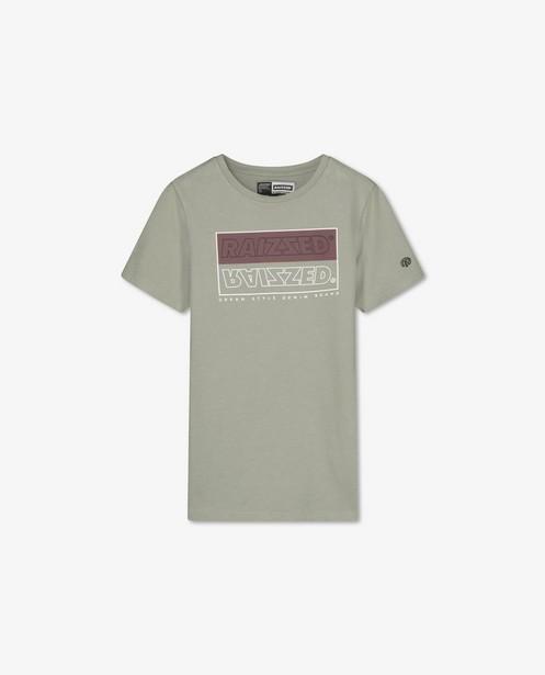 Groen T-shirt met print Raizzed - stretch - Raizzed