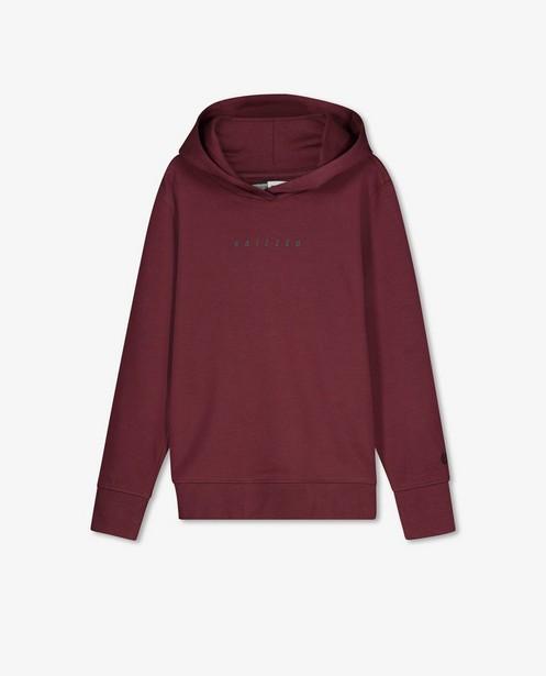 Bordeaux hoodie met opschrift Raizzed - met capuchon - Raizzed