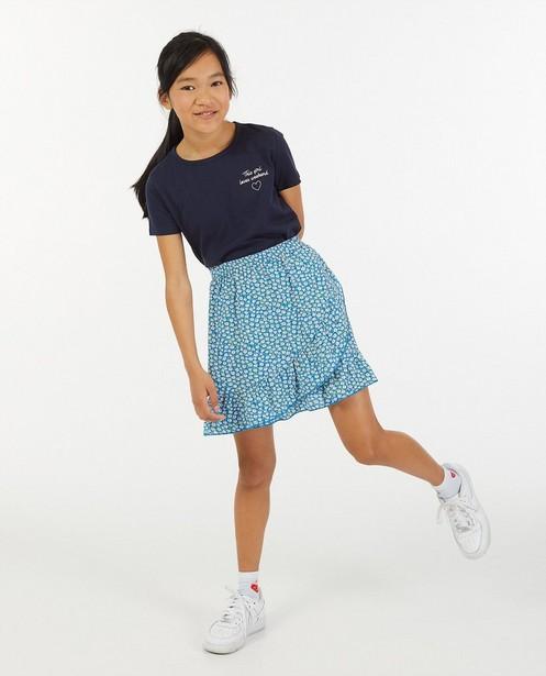 T-shirt met opschrift BESTies - stretch - Besties