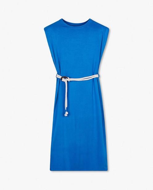 Robe bleue à ceinture BESTies - avec des épaulettes - Besties