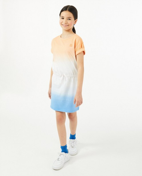 Robe en coton bio avec un imprimé en dégradé - stretch - Fish & Chips