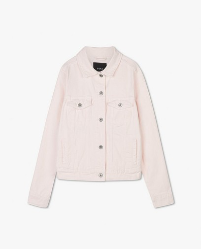 Veste en jeans rose clair Sora