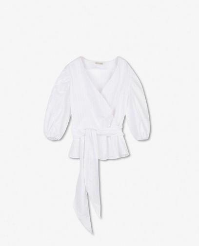 Katoenen blouse Marylène Madou