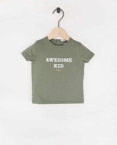 T-shirt twinning pour bébés à inscription - #familystoriesjbc - Familystories