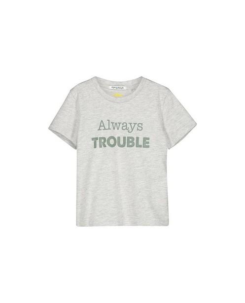 Twinning kids T-shirts met opschrift - #familystoriesjbc - Familystories