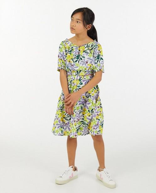 Linnen jurk met print Marylène Madou - top + rok - Marylène Madou
