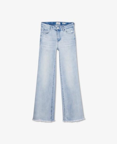 Jeans large bleu Indian Blue Jeans - avec des effilochures - Indian Blue