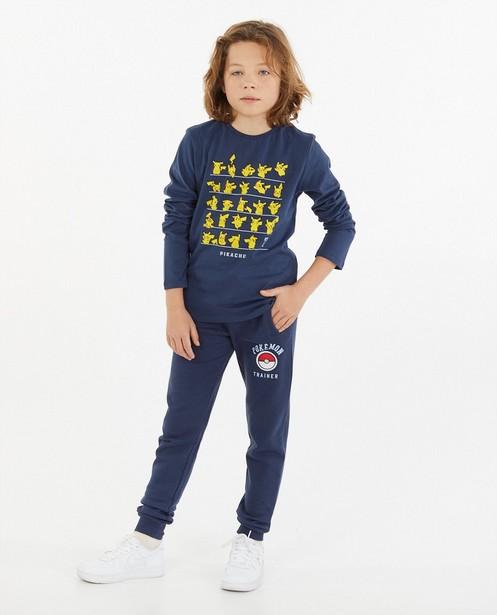 Pikachu-sweater met print Pokémon - stretch - Pokemon