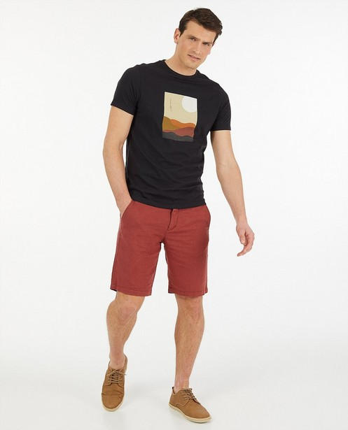 Biokatoenen T-shirt met print - Jersey - Quarterback