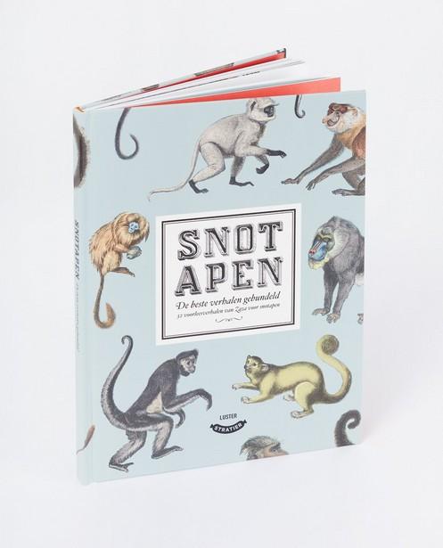 Voorleesboek Snotapen Stratier - verhalenbundel - Stratier