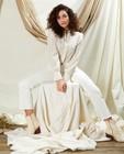Pantalons - Pantalon évasé court blanc Sora