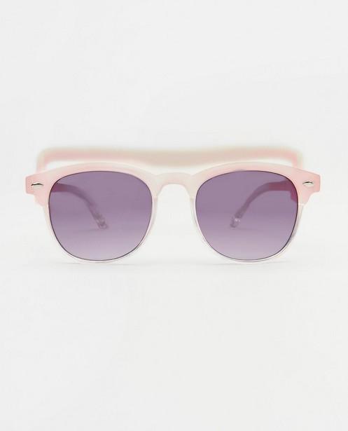 Roze zonnebril voor baby's - met afneembare elastiek - JBC
