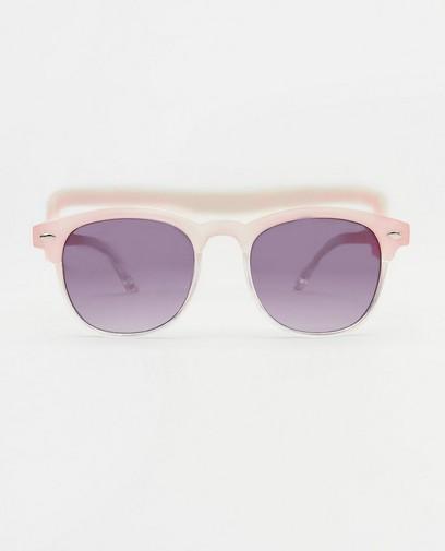 Roze zonnebril voor baby's