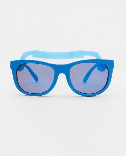 Blauwe zonnebril voor baby's - met afneembare elastiek - JBC