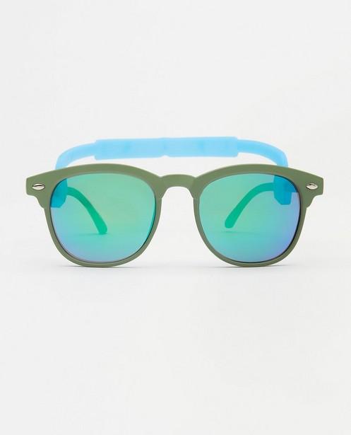 Groene zonnebril voor baby's - met afneembare elastiek - JBC