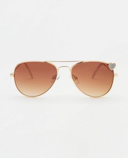 Pilotenbril met hartje