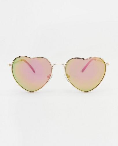 Lunettes de soleil en forme de cœur