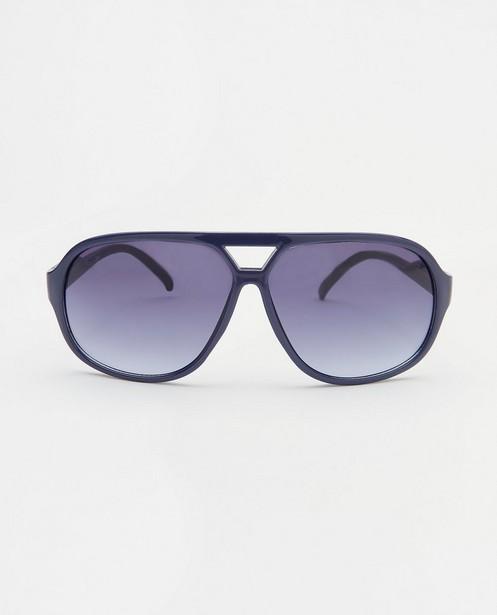 Blauwe zonnebril, 7-14 jaar - met kunststof montuur - JBC