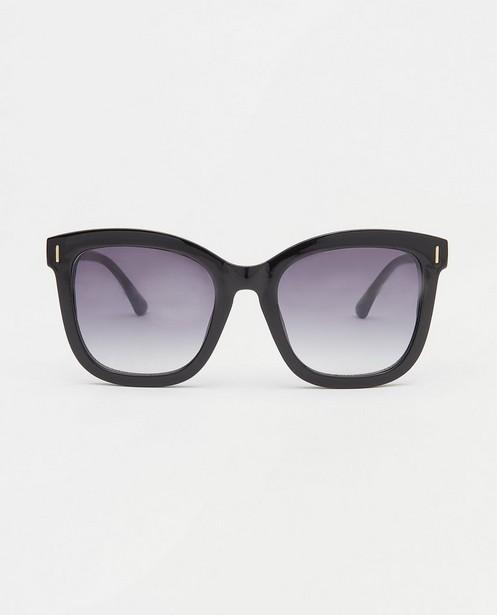 Zwarte zonnebril - met kunststof montuur - JBC