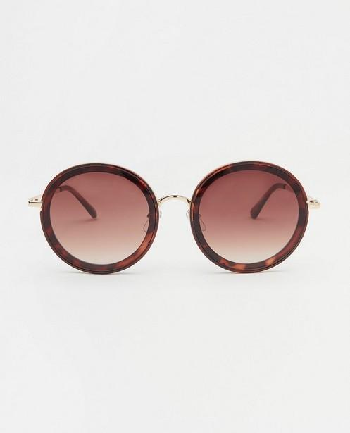 Ronde zonnebril - met metalen montuur - JBC