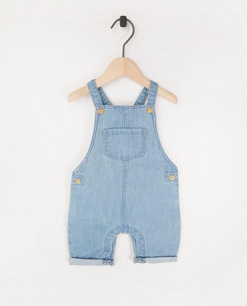 Salopette bleu clair - en coton - Newborn