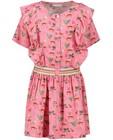 Kleedjes - Roze jurk met print Hampton Bays