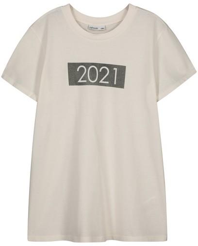 T-shirt écru 2021 JoliRonde