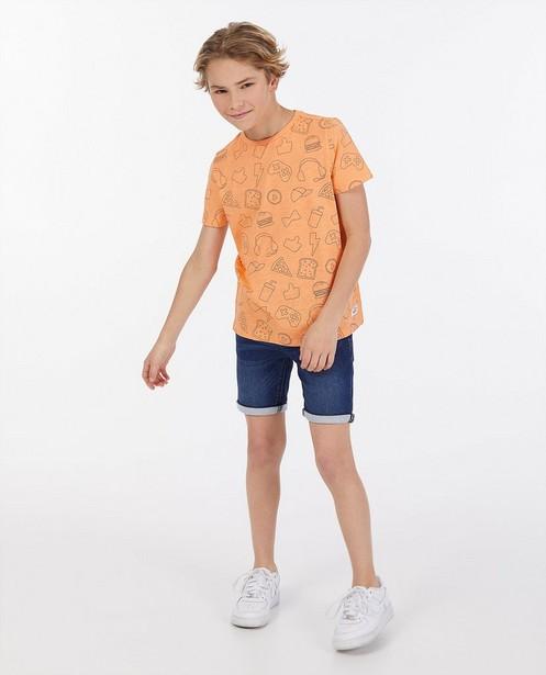 Biokatoenen unisex T-shirt Dylan Haegens - met borduursel - Dylan Haegens