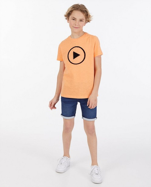 Unisex T-shirt met print Dylan Haegens - stretch - Dylan Haegens