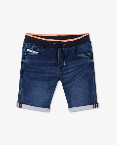 Short en sweat denim Dylan Haegens unisexe