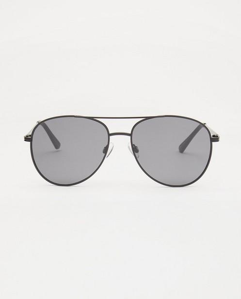 Zwarte pilotenbril - met metalen montuur - JBC