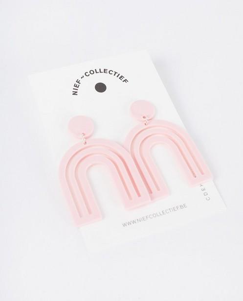 Arc en Ciel oorbellen Nief Collectief - 3D print - JBC