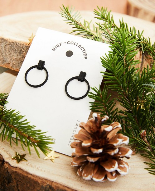 Mini boucles d'oreilles O Nief Collectief - impression 3D - JBC