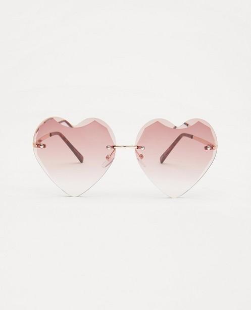 Lunettes de soleil en forme de cœur - monture métallique - JBC