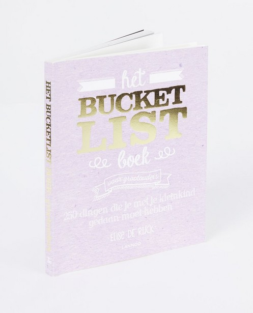 Het Bucketlist boek voor grootouders - Elise De Rijck - lann