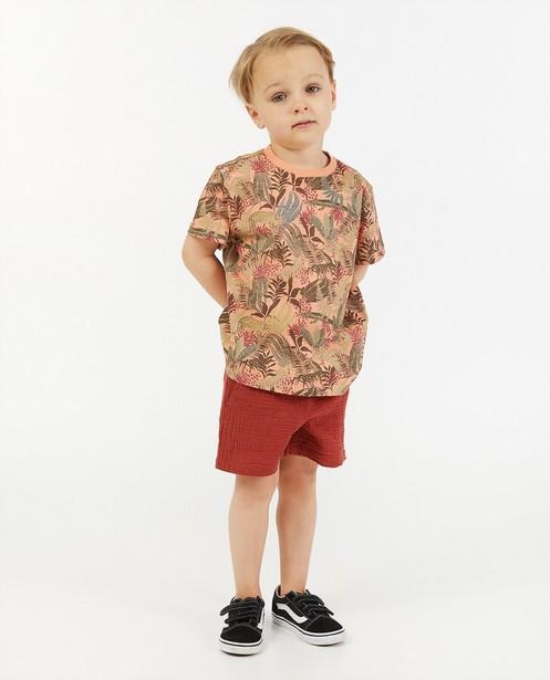 T-shirt en coton bio à imprimé - imprimé intégral - Kidz Nation