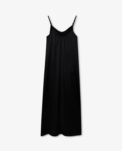 Satijnen A-lijn jurk Sora