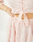 Kleedjes - Roze jurk met print Steffi Mercie