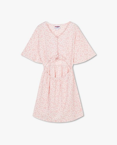 Robe rose à imprimé Steffi Mercie